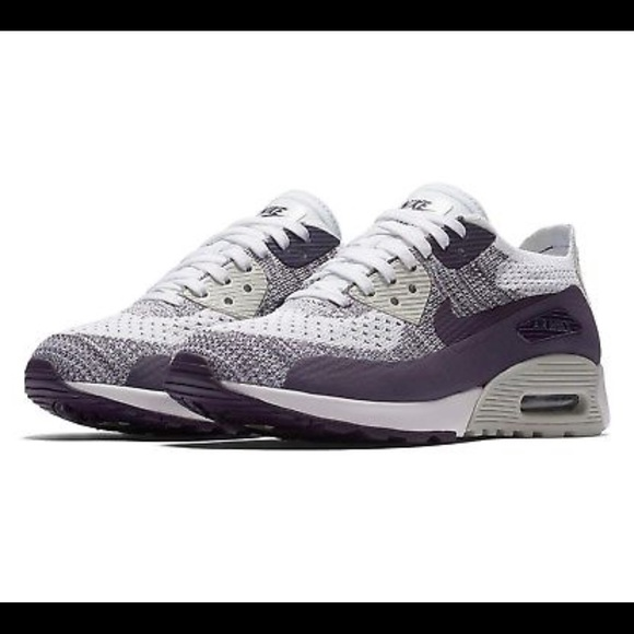 watch 57443 60d5a Nike Womens Air Max 90 Ultra 2.0 Flyknit Purple
